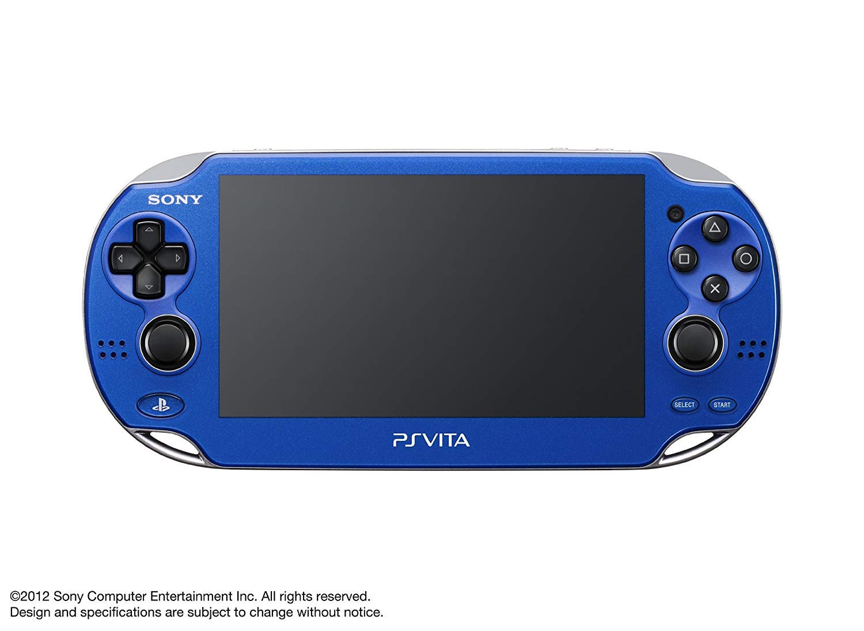Sony Playstation Vita OLED 1000 Series WiFi (Renewed) (Blue)