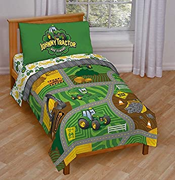 John Deere Johnny Tractor Play Toddler Bed Set Amazonde Küche