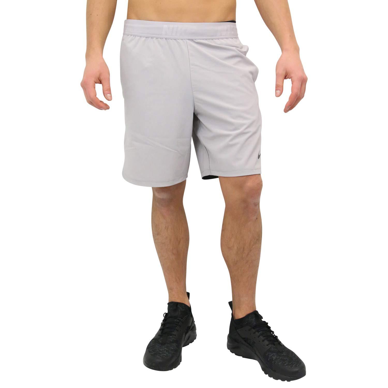 NIKE Flex Mens 8'' (20.5cm Approx.) Training Shorts,Atmosphere Grey/Black,1X Big