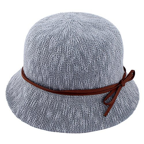 DealMux Ladies Mulheres Straw Decoração dobrável Verão Protective Viajando Ampla Pesca Brim Sun Cap Praia Hat