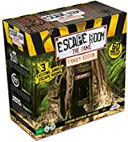 Escape Room The Game, Family Edition - with 3 Exciting Jungle Escape Rooms | Solve The Mystery Board Game for