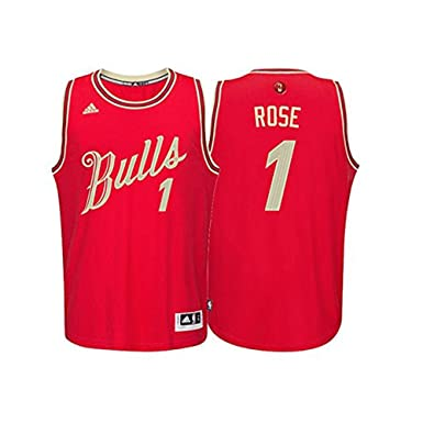 derrick rose jersey medium