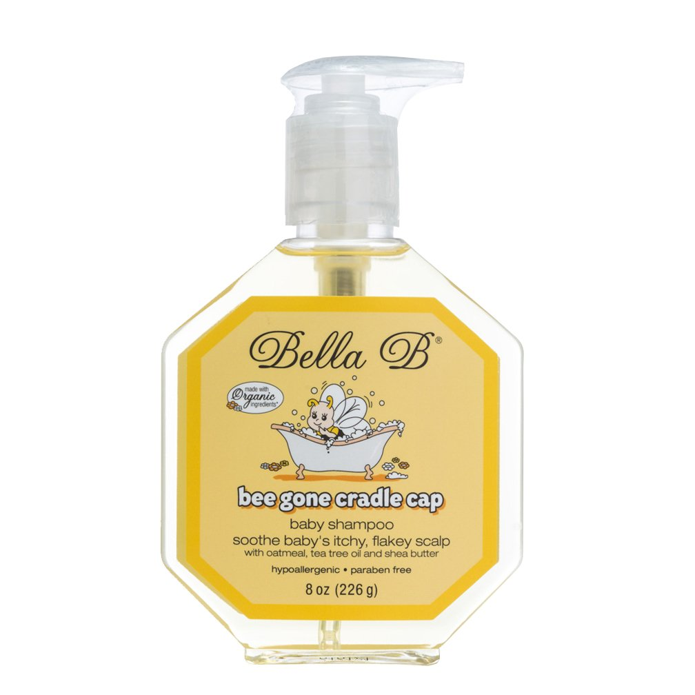 Bella B Bee Gone Cradle Cap Baby Shampoo 8 Oz Learning Curve LC22402