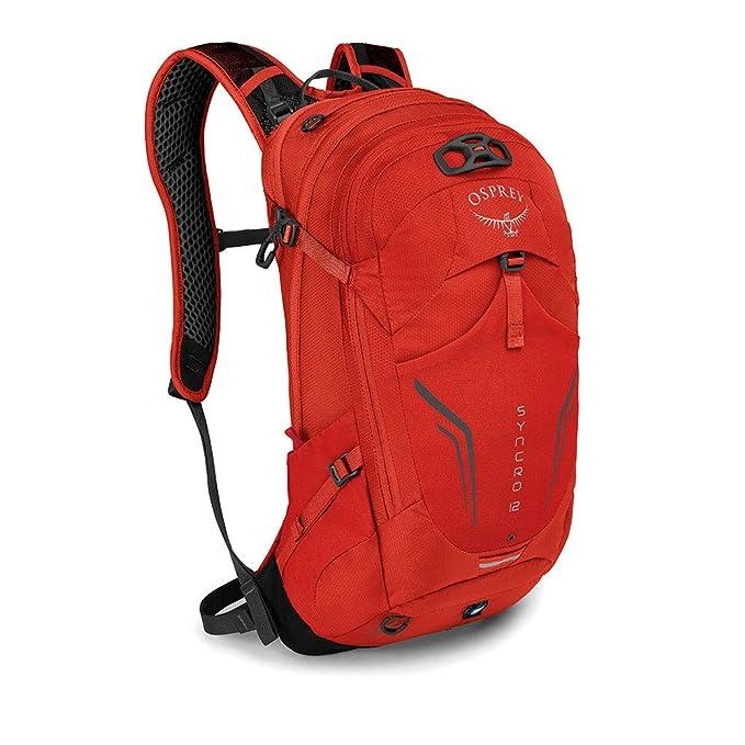 54988c0aad585 Osprey Syncro 12 Multisport-Rucksack für Männer -Sport Pack - Black (O S)   Amazon.de  Sport   Freizeit