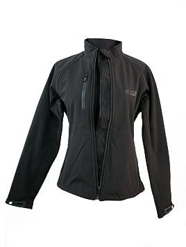 Amazon.es: Zerimar KENROD Chaqueta de neopreno| Mujer Modelo softshell con forro |Transpirable |Color negro Talla L