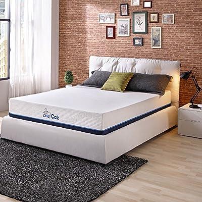 Amazon Com Twin Mattress Pillow Bundle Fresh Tea Infused Memory