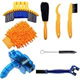 Bike Cleaning Tools Set (8 Pack), Bicycle Clean Brush Kit Suitable for Mountain, Road, City, Hybrid, BMX Bike and…