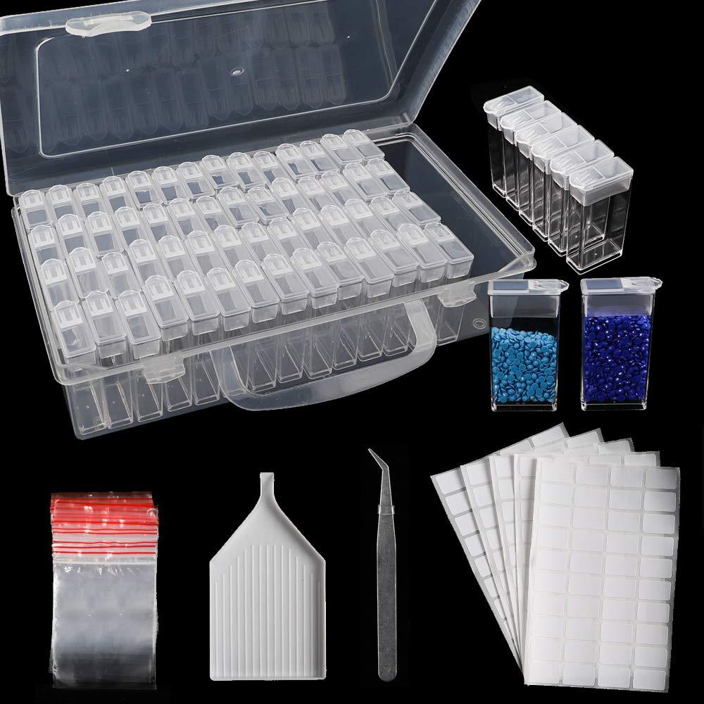 SGHUO 64 Slots Diamond Painting Storage