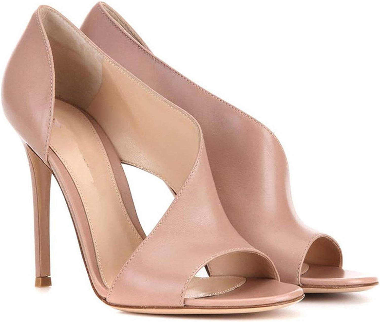 Women Fish Head Pumps Floral Strap Shoes Open Toe Sandals Woman Color Matching Sling Sandals