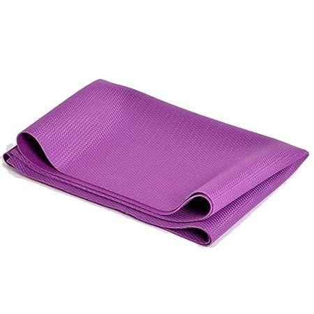 QI-shanping Colchonetas de Yoga, Caucho Natural Toalla de ...