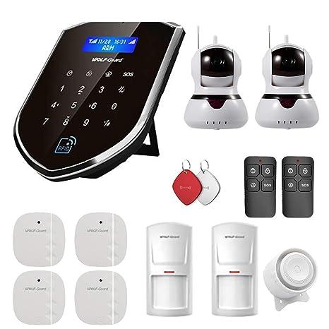 Wolf-Guard WM2GR-2IPC WiFi/gsm Alarma de Seguridad para el ...