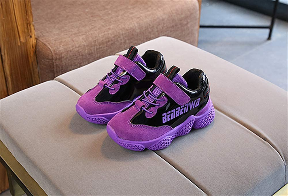 Bon Soir Kids Lightweight Casual Fashion Sneaker Uniform Shoe