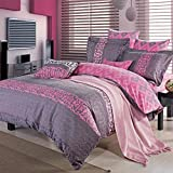 DHWM-Cotton Mill with four piece of Bed Twin pure quilt set, autumn and winter thick warm bed linens ,2.0m