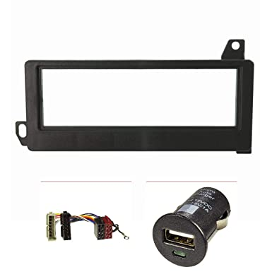 Embellecedor de radio (+ USB-cargador kit) Chrysler/Jeep Voyager, Cherokee