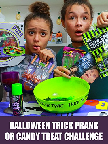 Halloween Trick Prank or Candy Treat