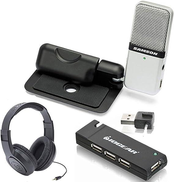 Micr/ófono de Condensador Negro Samson Meteorite