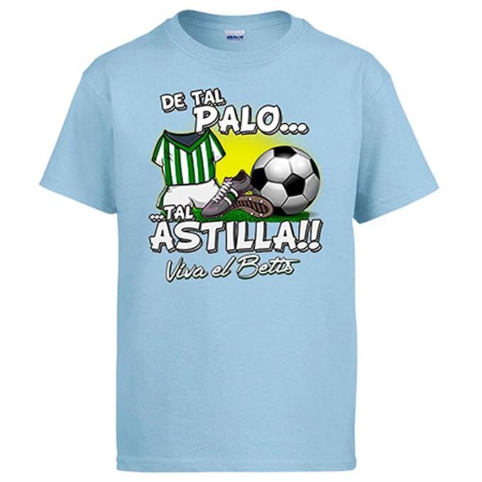 Diver Camisetas Camiseta De Tal Palo Tal Astilla Betis fútbol: Amazon.es: Ropa y accesorios