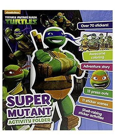 Amazon.com : Set of 2 Nickelodeon Teenage Mutant Ninja ...