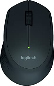 Mouse Logitech M280 Wireless Preto - 910-004284
