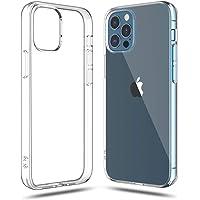 Shamo's Funda iPhone 12 Pro MAX Transparente, Suave TPU Gel Fina, Protección a Cámara y Bordes Carcasa Absorción de…