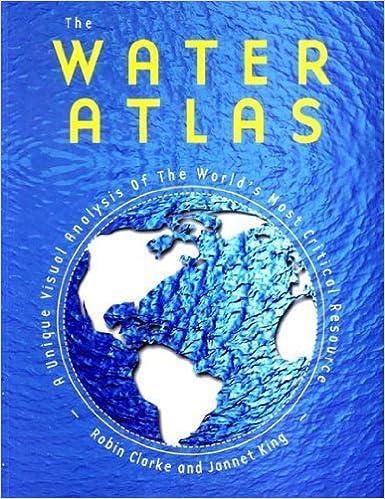 Book The Water Atlas by Robin Clarke (2004-07-01)