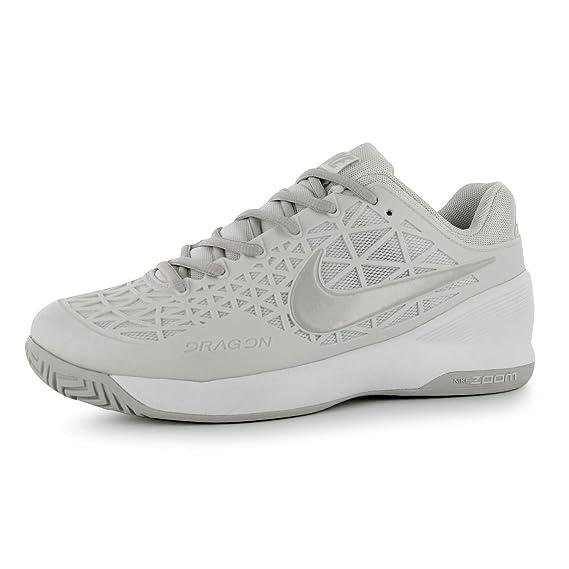 Nike Zoom Cage 2 - Zapatillas de Tenis para Mujer Blanco/Hueso ...