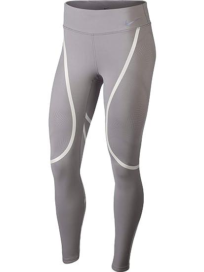 0e3b1797758d5 Nike Damen Running Epic Lux Graphic Tights – AH6090-027 – Grau – Größe XS