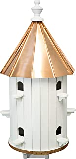 """product image for Saving Shepherd 30½"""" Birdhouse - 10 Room Copper Top Finch Bird Condo House Amish Handcrafted in Lancaster Pennsylvania USA"""