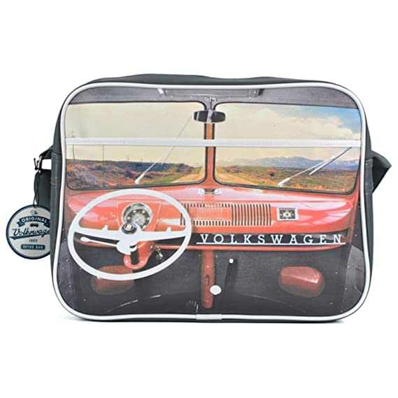 9a52991eb637c VW Camper Van Dashboard Shoulder Bag: Amazon.co.uk: Clothing