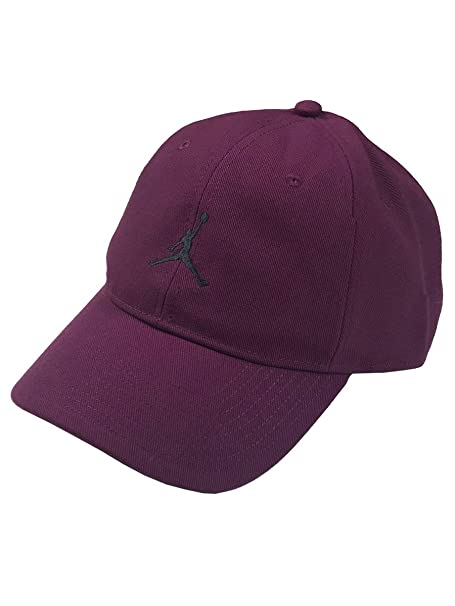 d1047c12e17513 Nike Air Jordan Adult Adjustable Jumpman Logo Hat (Purple)  Amazon ...
