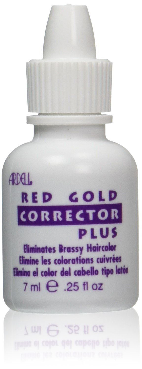 Amazon Ardell Hair Color Corrector Red And Gold 025 Ounce