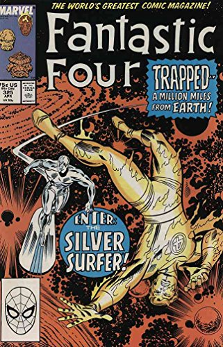 FANTASTIC FOUR 323-325 Silver Surfer & Mantis story