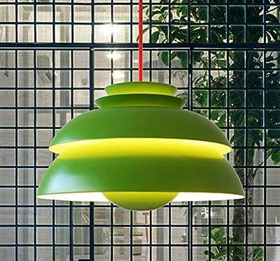 DMMSS Iron Art Glass Scandinavian Chandelier Modern Restaurant Lighting Bar Creative Bar Art Single Head Concert Light