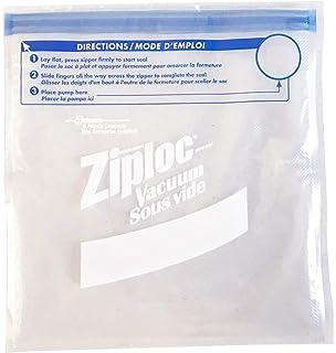Amazon.com: Ziploc ZL20QB3 Vacuum Seal Quart Bags, Clear, 20 ...