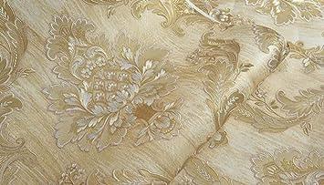 Alger Papier Peint Mode Luxe Relief 3d Damas Salon Chambre