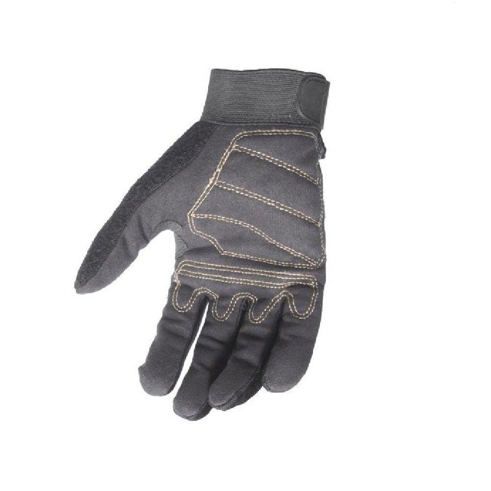 Dewalt DPG20L All Purpose Synthetic Leather Palm Spandex Back Velcro Wrist Work Glove, Large by DEWALT (Image #1)