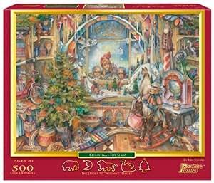 Christmas Toy Shop 500-Piece Puzzle