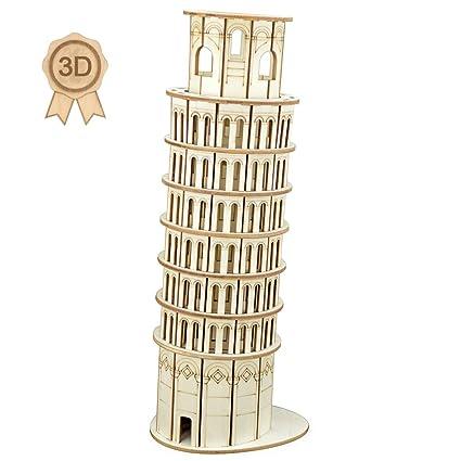 Buy Bitopbi 3D Wooden Puzzles Laser Engraving DIY Safe