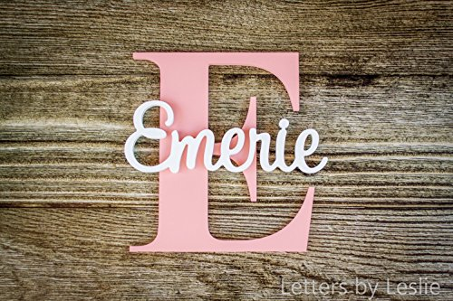 Nursery Name Sign Capital Letter Baby Na - Baby Name Plaques Shopping Results
