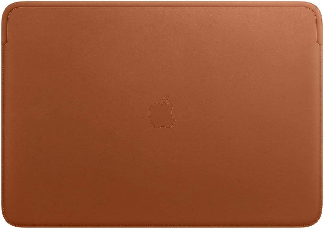 Apple Leather Sleeve (for 16-inch MacBook Pro) - Saddle Brown
