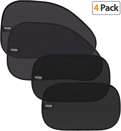 KMMIN Car Window Shade -Two Sizes in One Pack