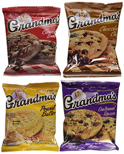 Grandmas Chocolate Chip - Grandmas Big Cookie Variety Pack, 33 count