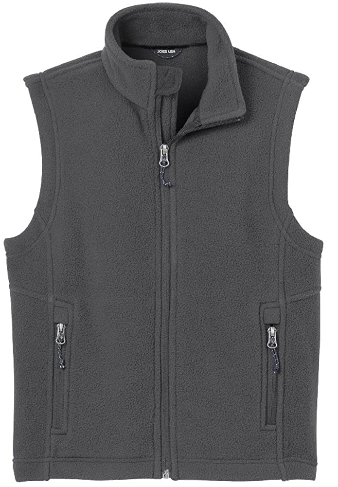 Youth Soft and Cozy Fleece Vest in Youth Sizes XS-XL USAL11814260