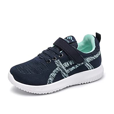 Qianliuk Kinder Casual Schuhe Outdoor Sport Sneakers Velcro Anti-Slip-Mode Boys Trainer YnOYwPGt