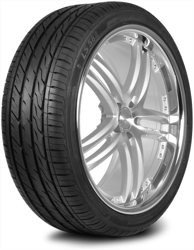 LANDSAIL LS588 UHP Performance Radial Tire - 225/35ZR19 88W 581210