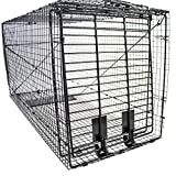 Humane Trap - Live Animal (Coyote, Stray Cat, Fox, Raccoon) Trap - 50'x24'x19'