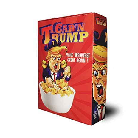 Capu0027n Trump Cereal Box | President Donald Trump Collectible Cereal Box  sc 1 st  Amazon.com & Amazon.com: Capu0027n Trump Cereal Box | President Donald Trump ... Aboutintivar.Com