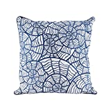 Sea Shells Pillow With Goose Down Insert