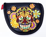 Neo-mallet Type Putter Cover Psychedelic Skull