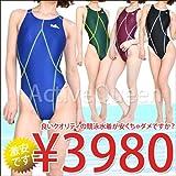 【Yingfa】レディース ワンピース競泳水着 2XL BLACK